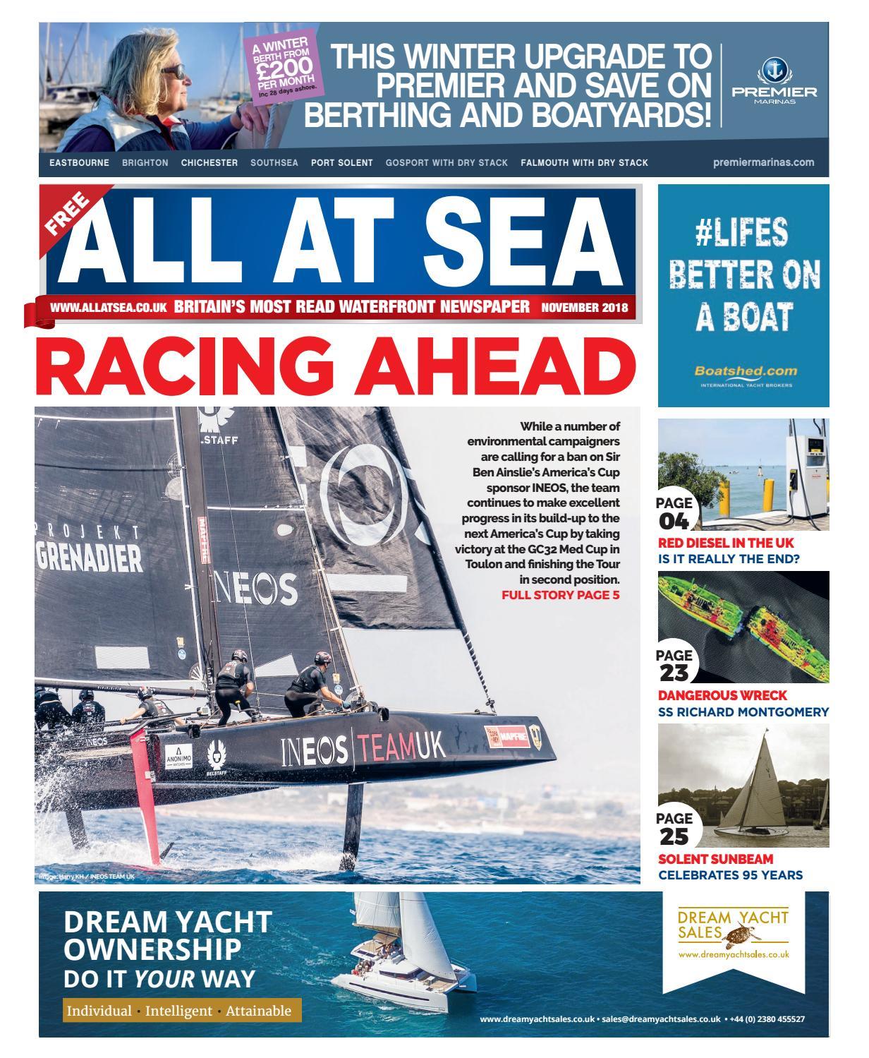 All At Sea November 2018 by All At Sea - issuu