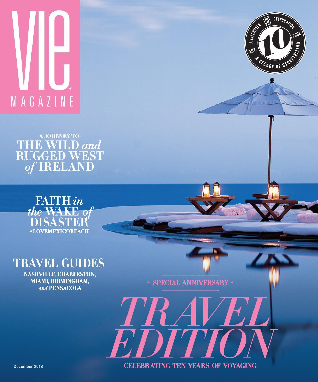 424390e5e5c2a VIE Magazine December 2018 by  the idea boutique ® - issuu