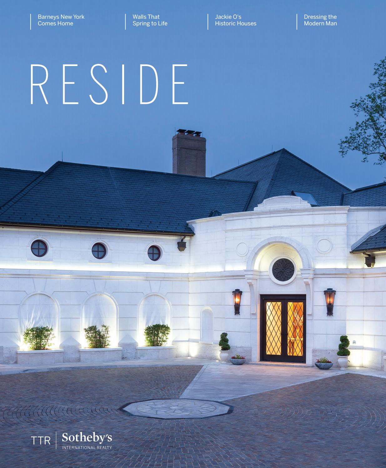 Reside presented by ttr sothebys international realty