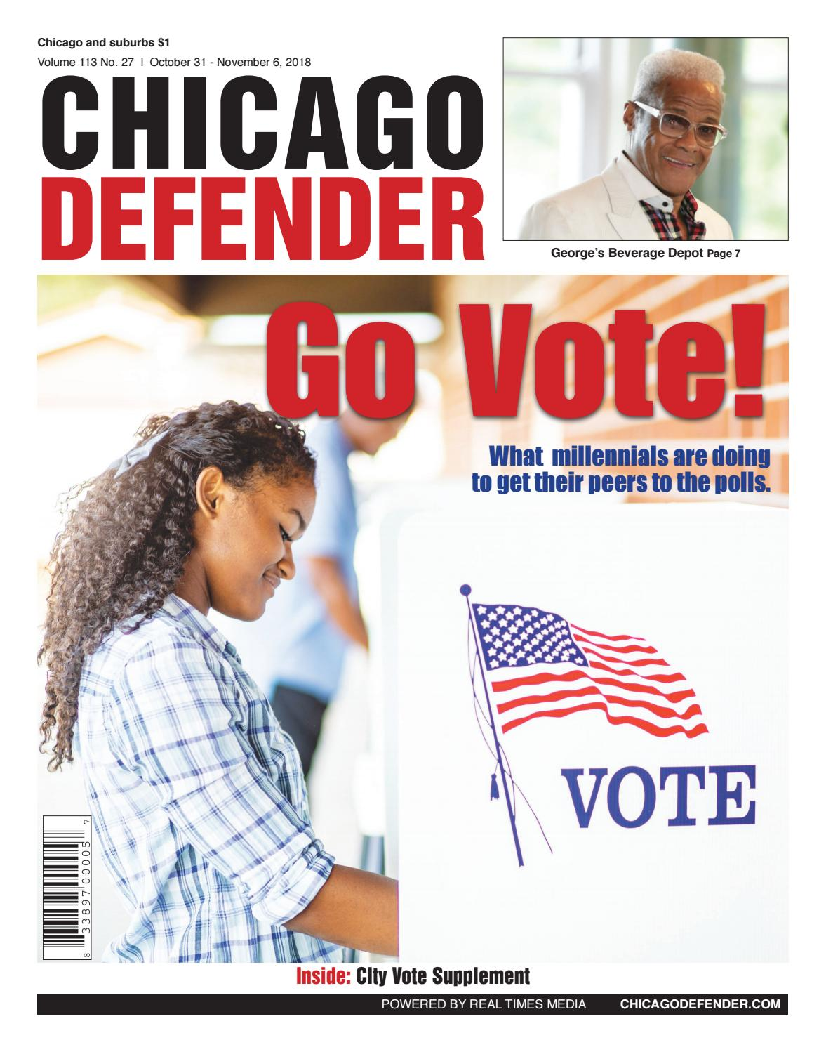 5d4837eccd4d Chicago Defender 103118 by ChiDefender - issuu