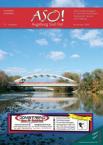 Aso Augsburg Sud Ost November 2018 By Bernhard Steiert Issuu