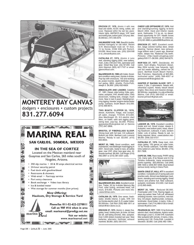 Latitude 38 June 2005 by Latitude 38 Media, LLC - issuu