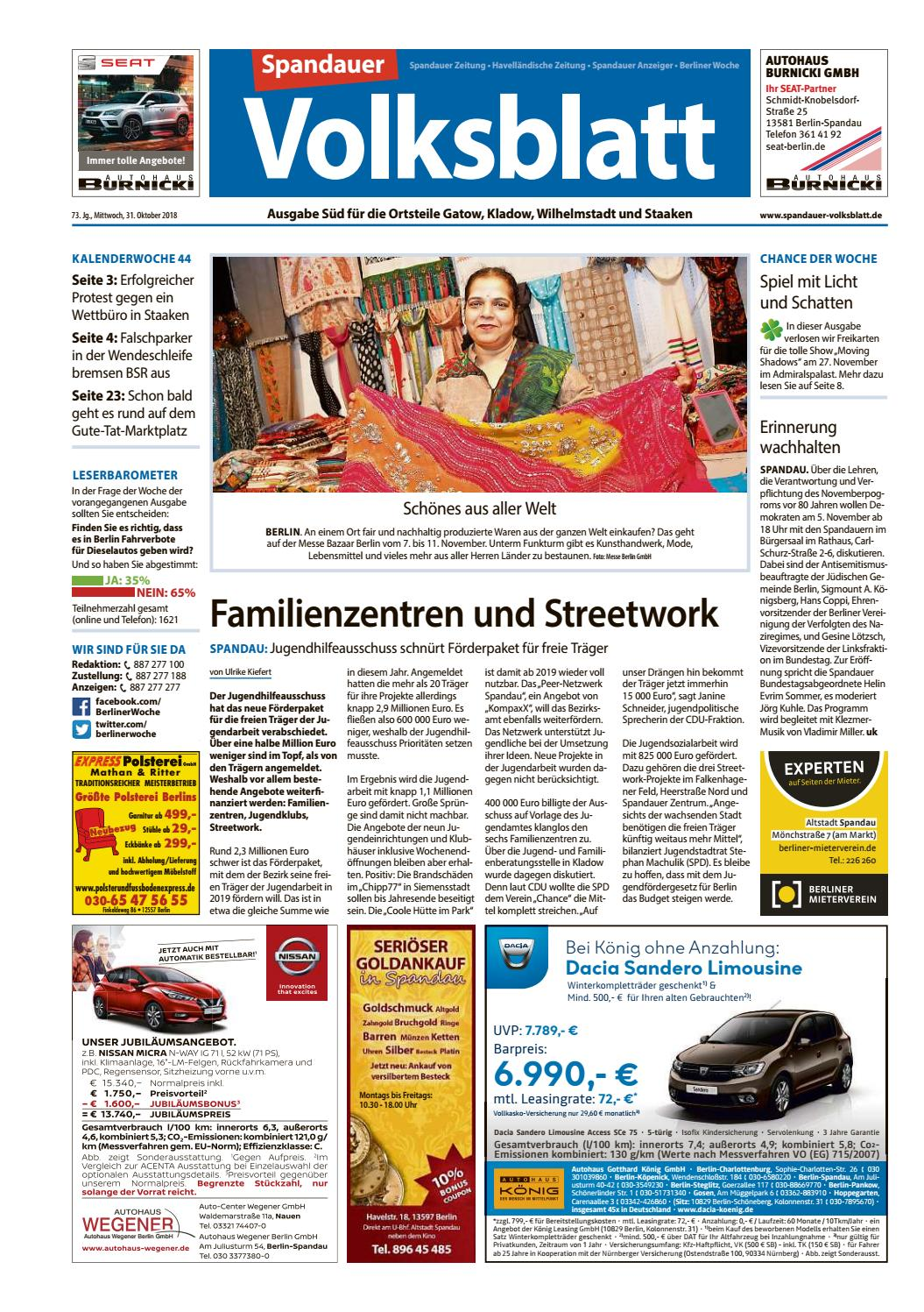 c476a1617cd213 L28 Spandau Süd (Spandauer Volksblatt) by Berliner Woche - issuu