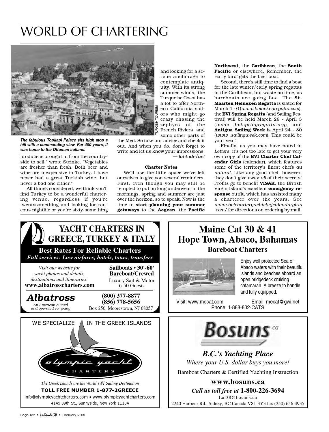 Latitude 38 February 2005 by Latitude 38 Media, LLC - issuu