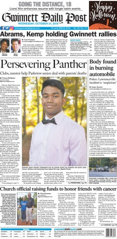 October 31, 2018 — Gwinnett Daily Post by Gwinnett Daily Post - issuu