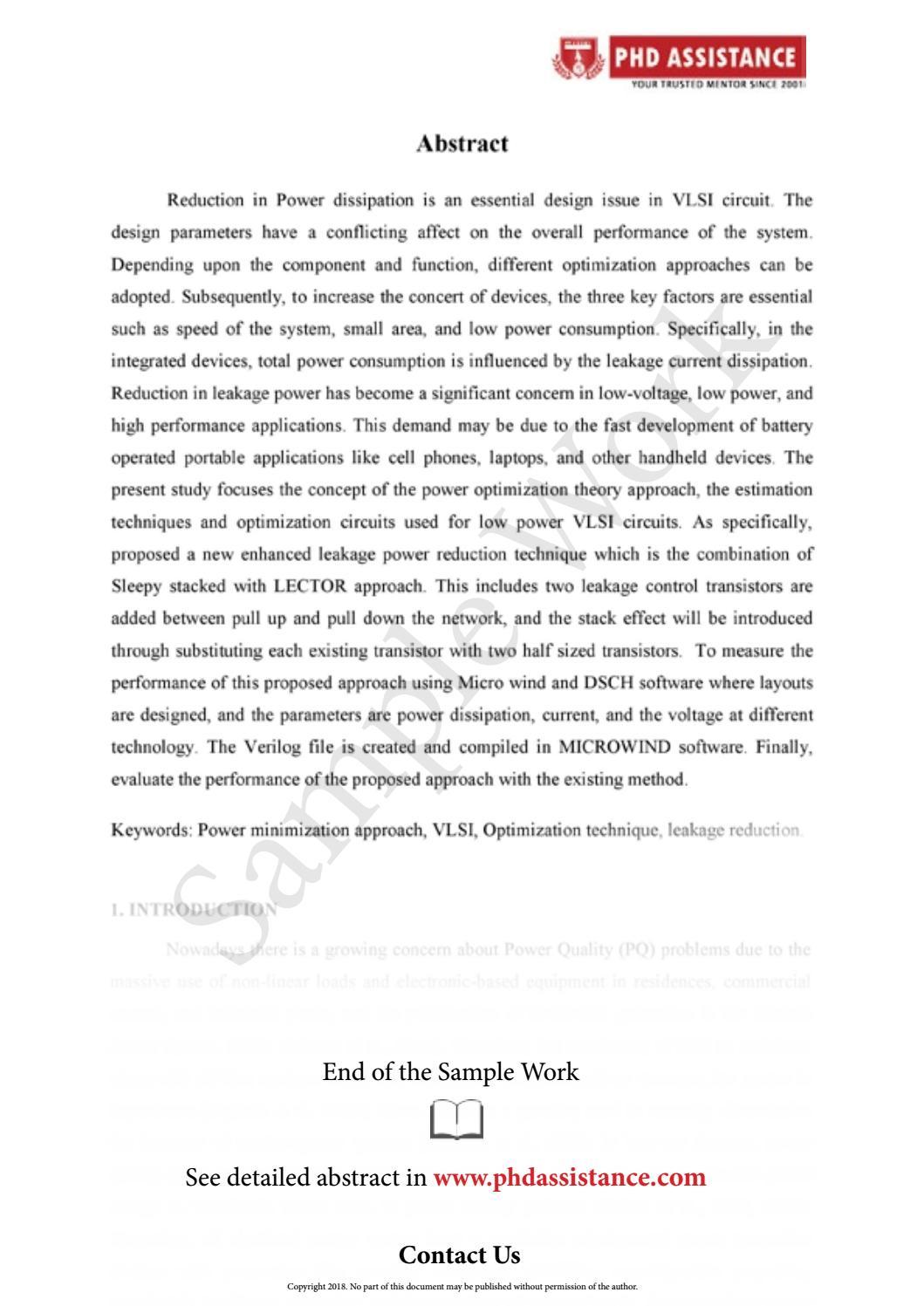 Phd. thesis cambridge university
