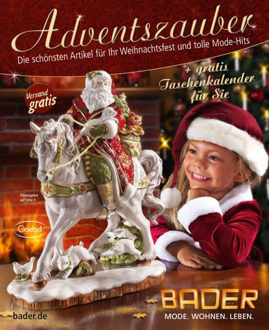 Каталог Bader Adventszauber зима 2018. Заказ товаров на www