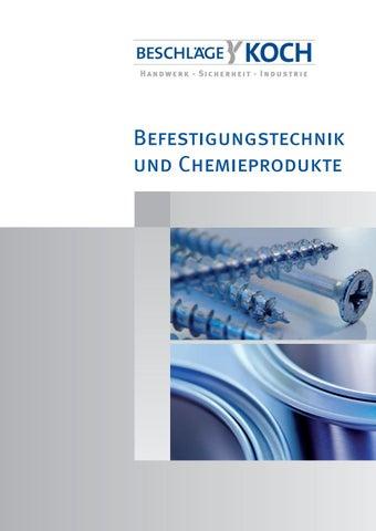 Befestigungstechnik Und Chemieprodukte By Olesja Weilert Issuu