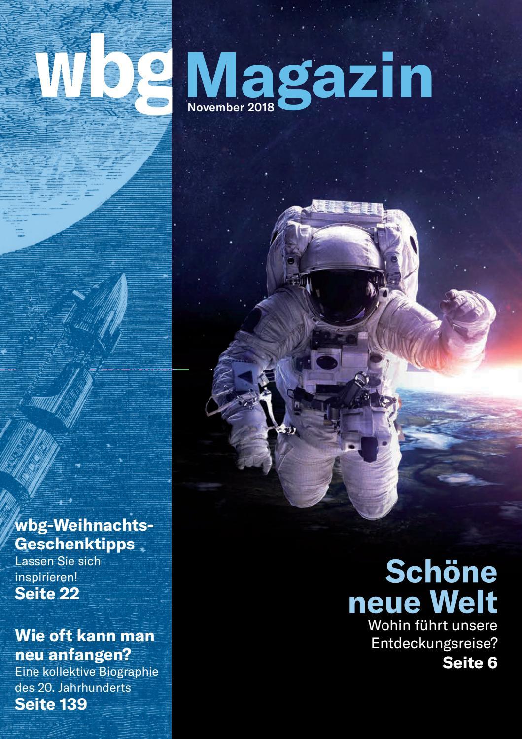 wbg-Magazin 04/2018 by wbg – Wissen. Bildung. Gemeinschaft. - issuu