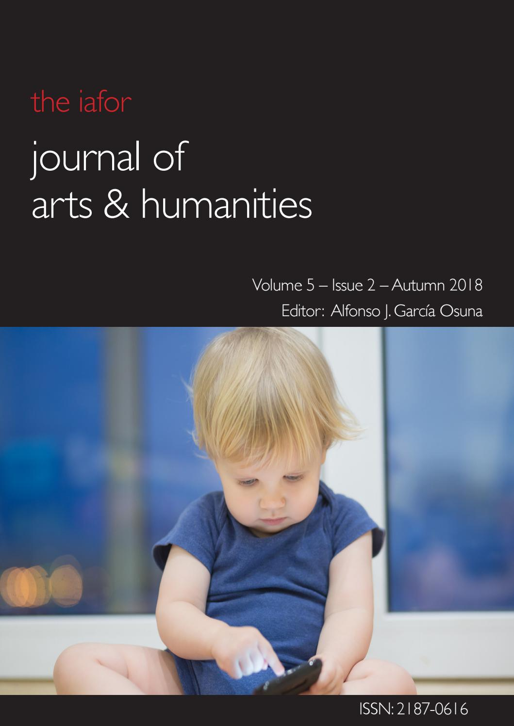 IAFOR Journal of Arts & Humanities Volume 5 – Issue 2