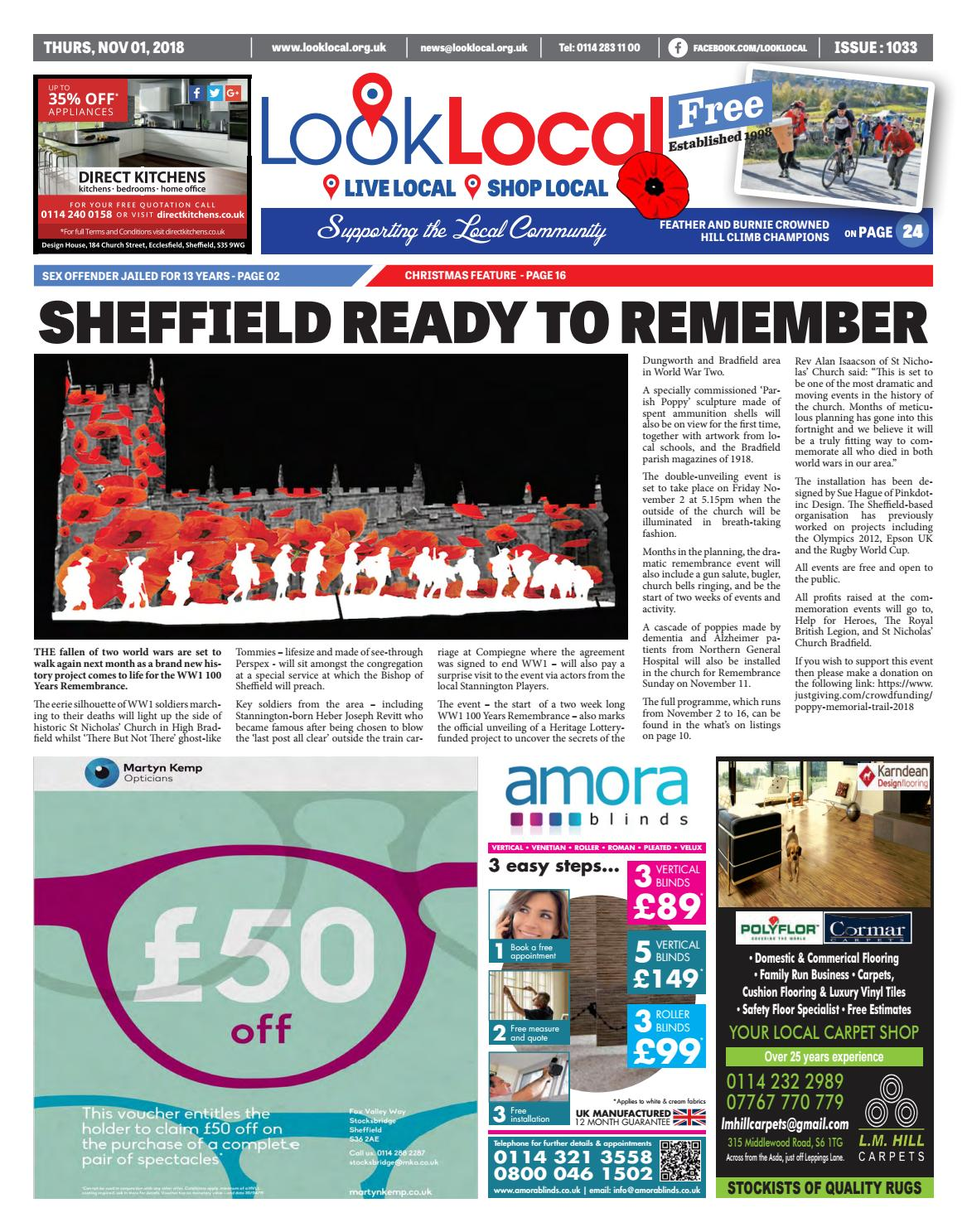83d6dfb735 Issue 1033 Thursday 1 November 2018 by Look Local Newspaper - issuu