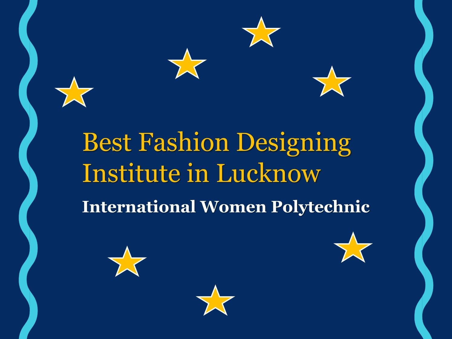 Best Fashion Designing Institute In Lucknow By Mark Wood Issuu