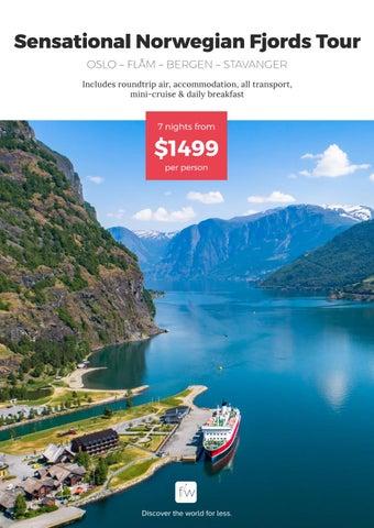 Usa Sensational Norwegian Fjords Tour By Fleetway Issuu