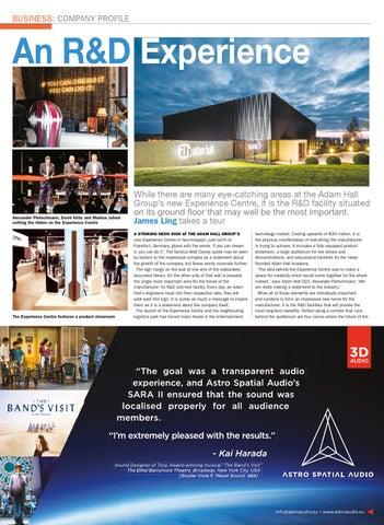 78cdf265ef3 Pro AVL Asia November-December 2018 by Blank Canvas Publishing Ltd - issuu