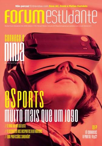 bbdb32d7307c6 310 Revista Forum Estudante - Novembro 2018 by Forum Estudante - issuu
