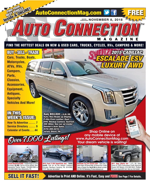 11-08-18 Auto Connection Magazine by Auto Locator and Auto