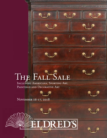 best service 99086 aae0d The Fall Sale Including Americana, Sporting Art, Paintings and Decorative  Art