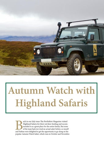 Page 60 of Autumn Watch with Highland Safaris