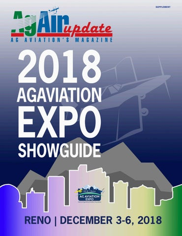 2a2dcaff0c AgAir Update 2018 Ag Aviation Expo Show Guide by AgAir Update - issuu