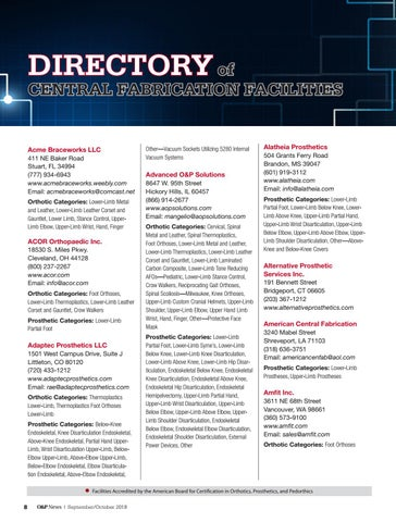 Page 10 of Directory of Central Fabrication Facilities