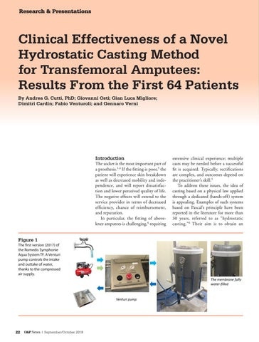Page 24 of Clinical Effectiveness of a Novel Hydrostatic Casting Method for Transfemoral Amputees: Results From the First 64 Patients