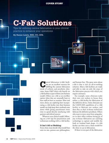 Page 6 of Cover Story: C-Fab Solutions