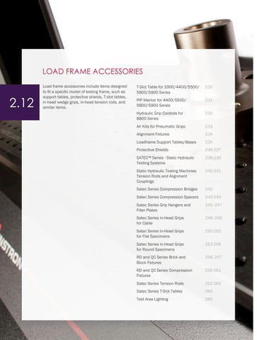 Page 232 of Load Frame Accessories
