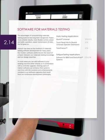 Page 272 of Software for Materials Testing