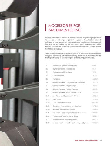 Page 7 of Application Specific Accessories