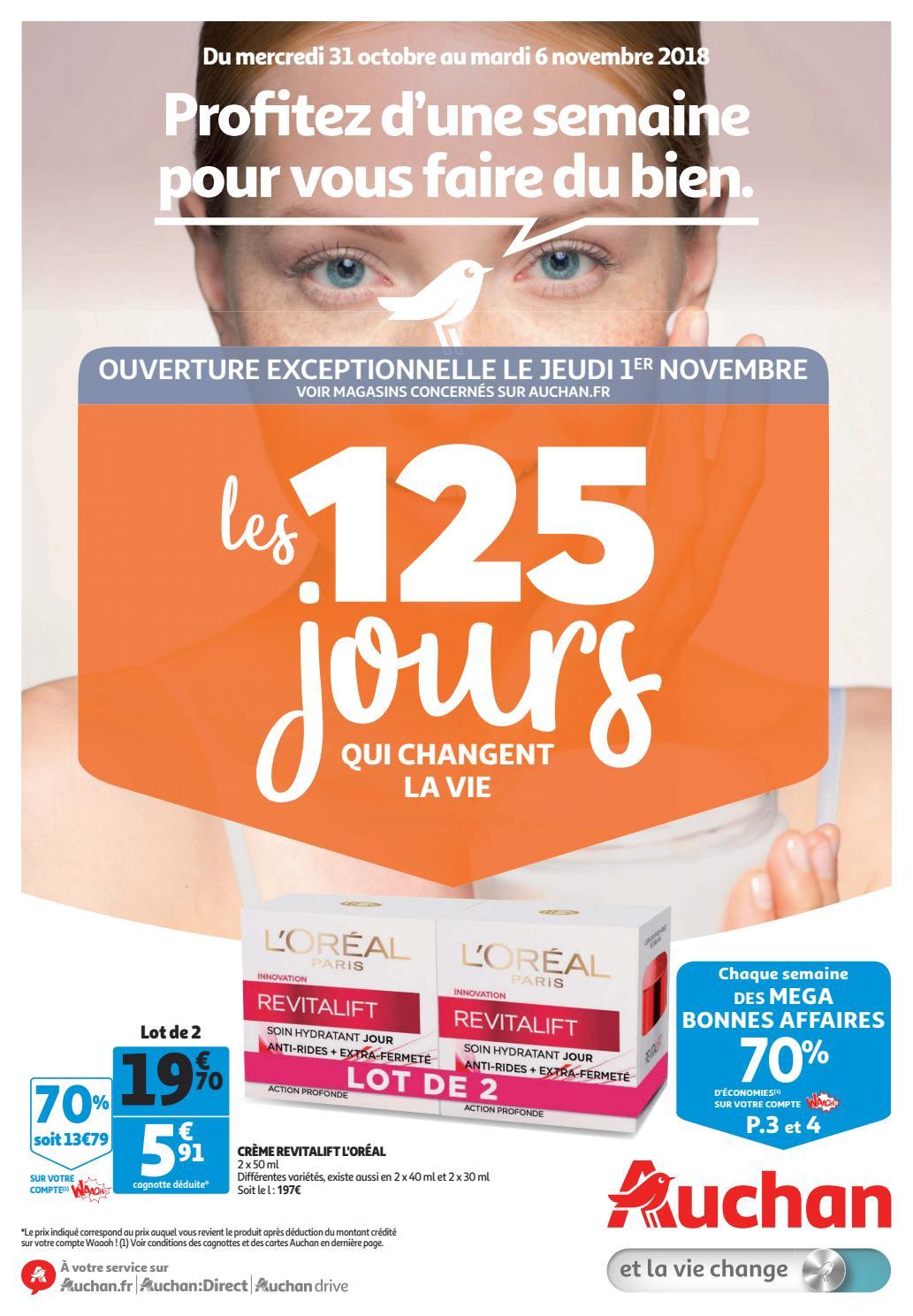 une grande variété de modèles large sélection meilleur grossiste Monsieurechantillons.com | Catalogue Auchan Hypermarché ...
