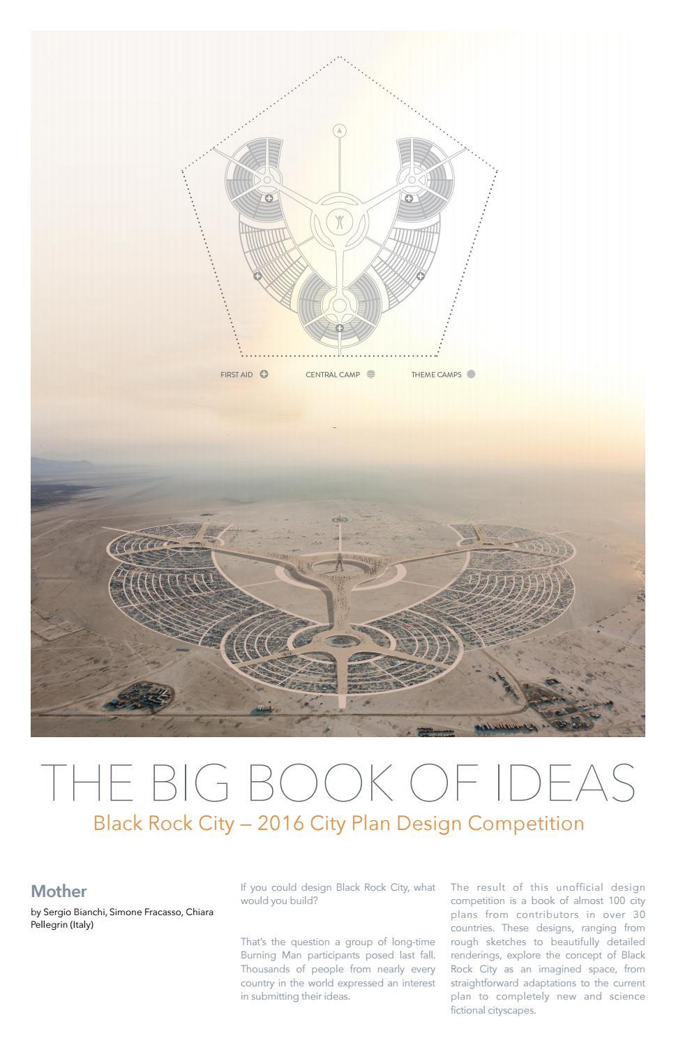 Black Rock City Street Plan Big Book Of Ideas By Studio Bianchi Architettura Issuu