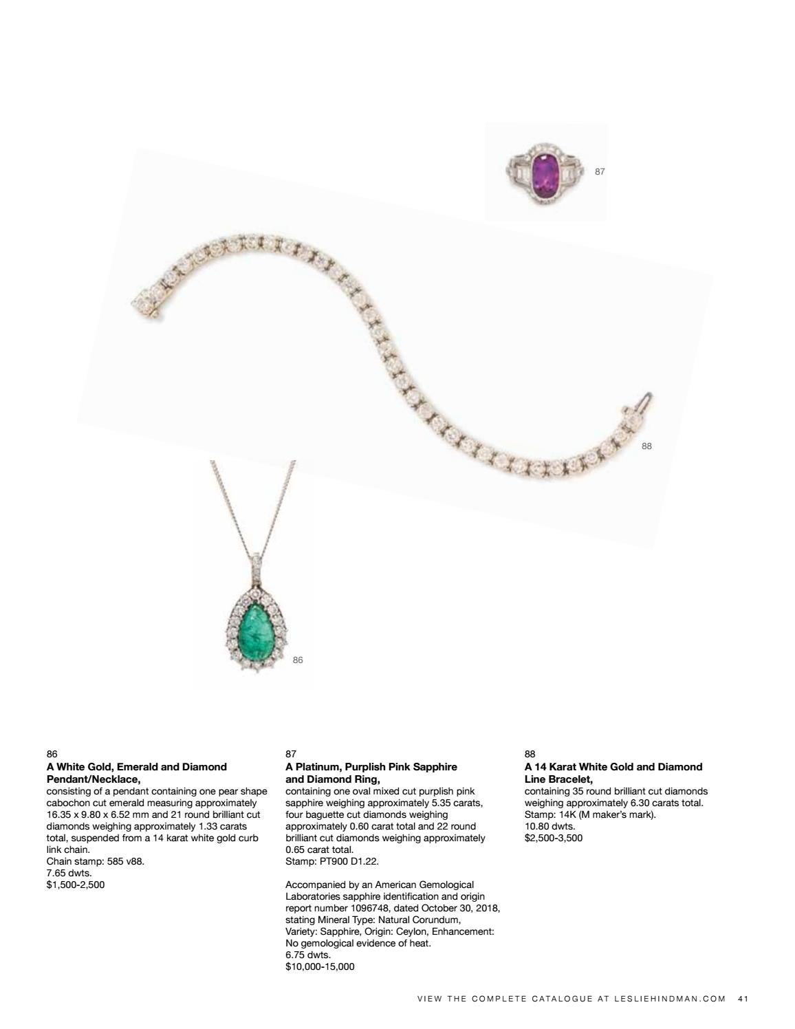 Sale 592 | Important Jewelry by Hindman - issuu