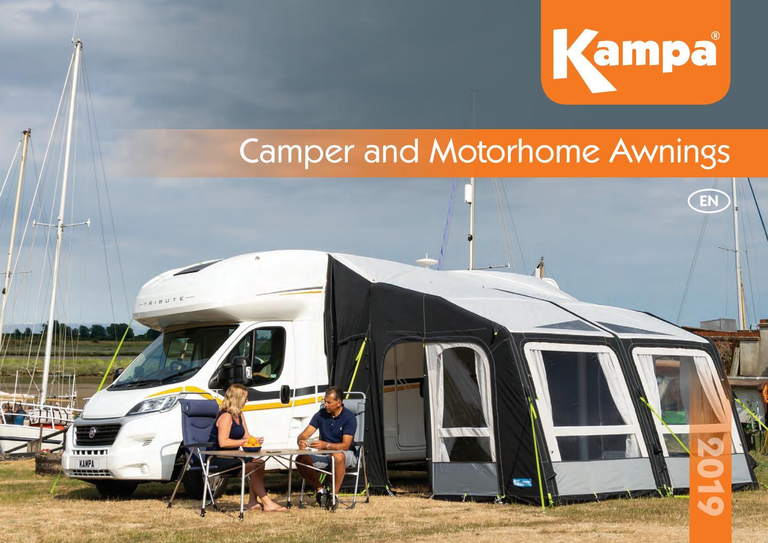 Kampa Ace 400 Caravan Awning Easy Tread Groundsheet Carpet Breathable 111130