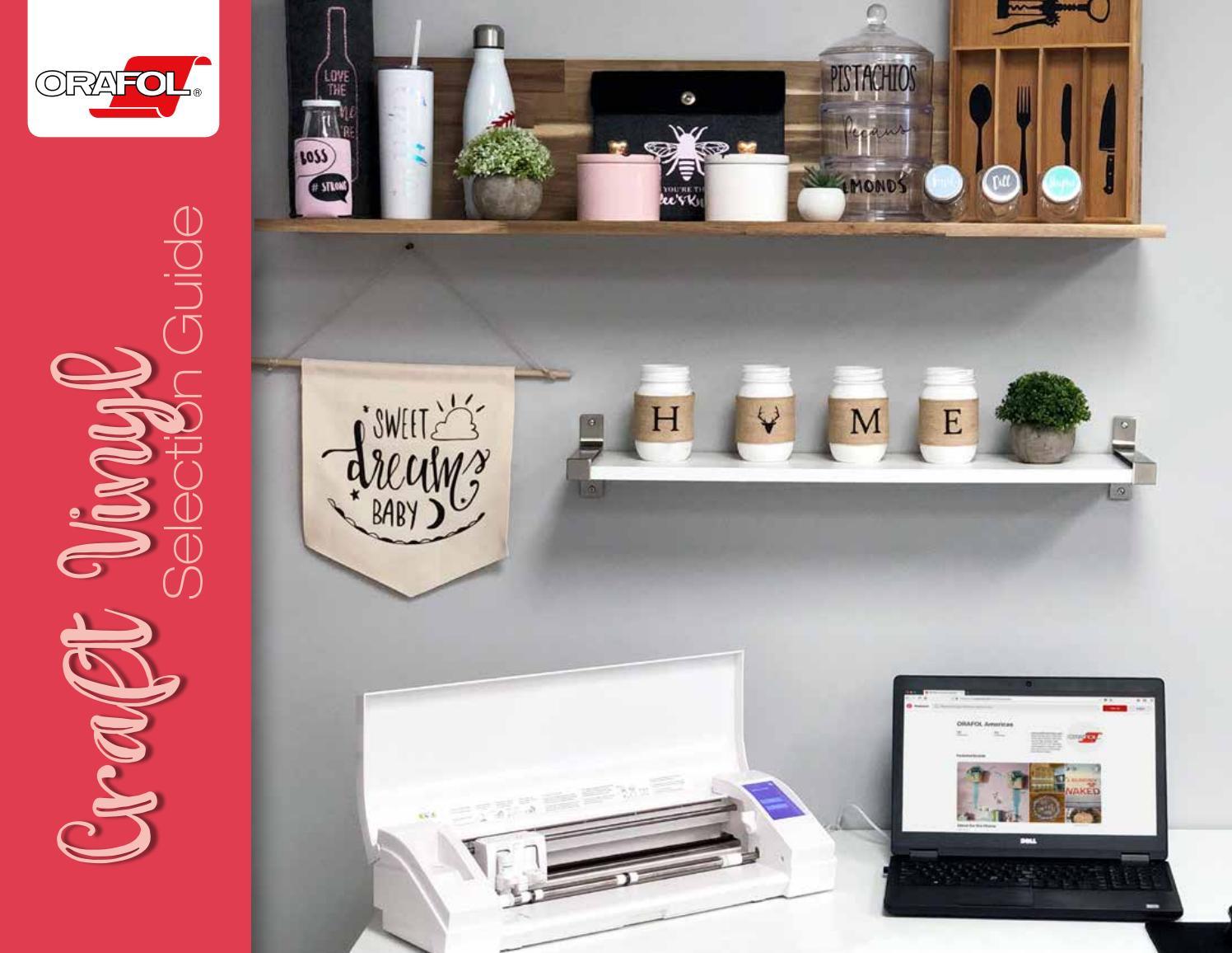 ORAFOL® Craft Vinyl Selection Guide by ORAFOL Americas - issuu