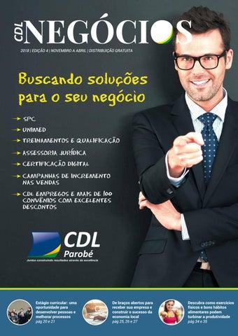 5786b5ba3 CDL Negócios - Novembro 2018 by Ivonete de Parobé - issuu