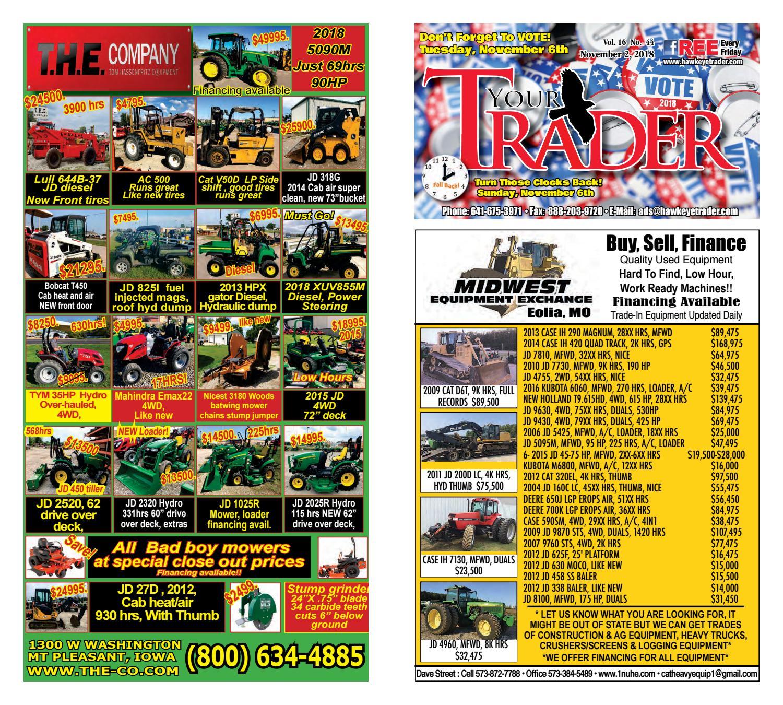 HawkeyeTrader110218 by Hawkeye Trader - issuu
