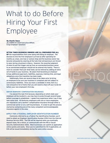 Page 10 of What to do Before Hiring Your First Employee