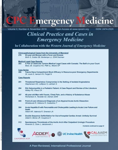 Clinical Practice and Cases in Emergency Medicine Volume 2