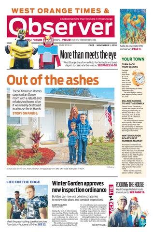 110118 West Orange Times Observer By Orange Observer Issuu