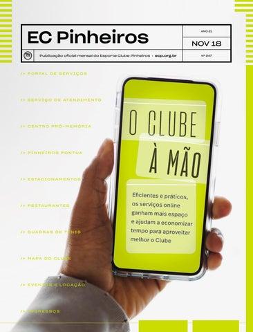 cc77d634d5 Revista nº 247 - Novembro de 2018 by Esporte Clube Pinheiros - issuu