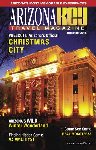 Arizona KEY Travel Magazine Digital Edition December 2018