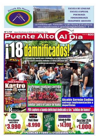 Edición N° 3.729 - 20 de Octubre 2018 by Puente Alto Al Día - issuu 6a430090076