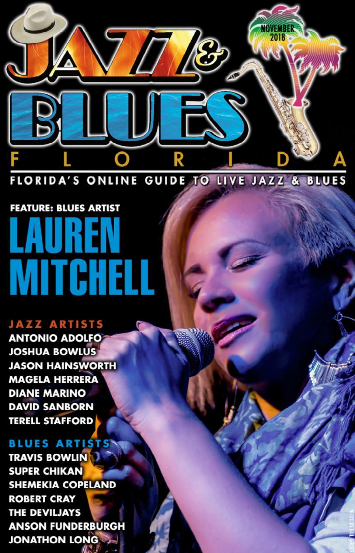 Jazz & Blues Florida November 2018 Issue by JazzBluesFlorida