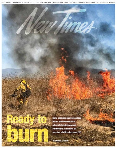 New Times, Nov  1, 2018 by New Times, San Luis Obispo - issuu