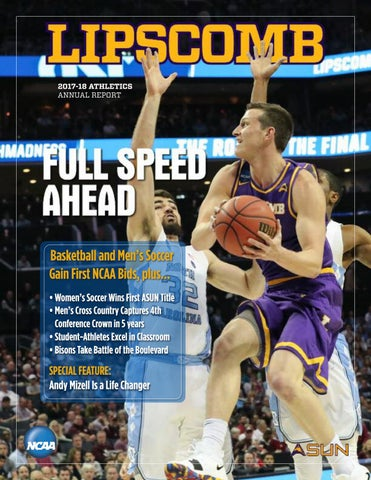 6ccd1bc45f79 2017-18 Lipscomb Athletics Annual Report by Lipscomb University ...