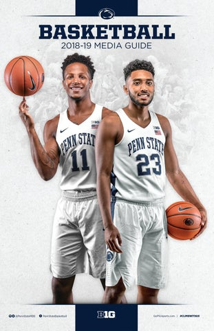 eaccaaae369 2018-19 Penn State Men s Basketball Yearbook by Penn State Athletics ...