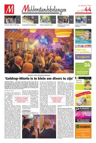 e4c79683c48 Middenstandsbelangen Geldrop 01-11-2018 by Das Publishers! - issuu