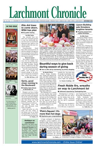 LC 11 2018 By Larchmont Chronicle