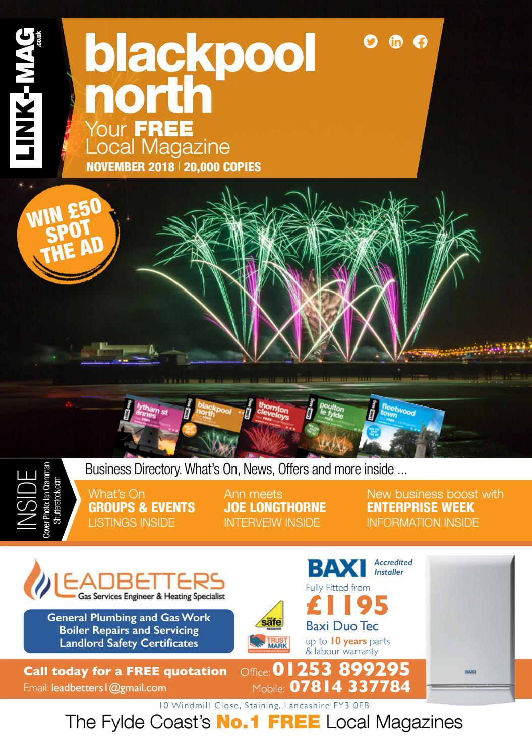 Link Mag Blackpool North November 2018 By Link Mag Issuu