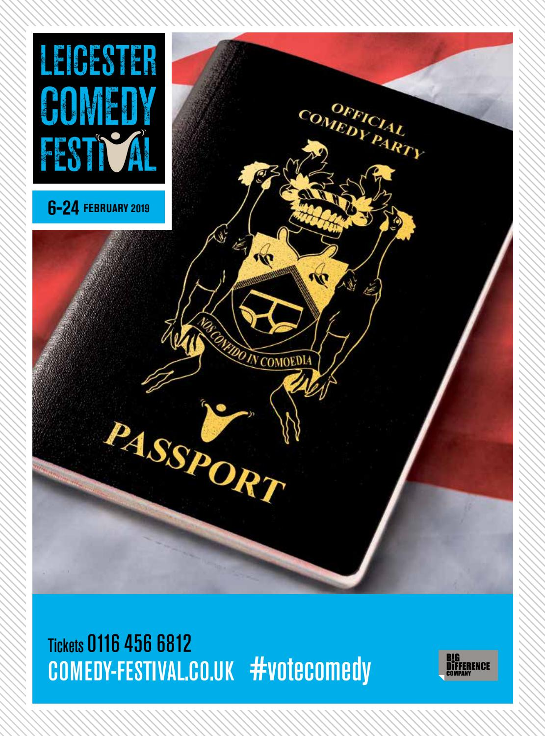 Leicester Comedy Festival - 6-24 February 2019 by Lucy Bloomfield - issuu